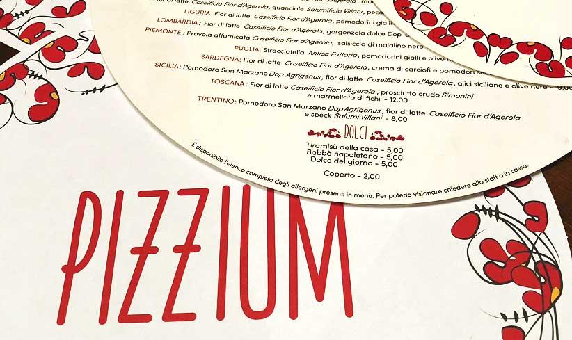 PIZZIUM: OGNI REGIONE LA SUA PIZZA
