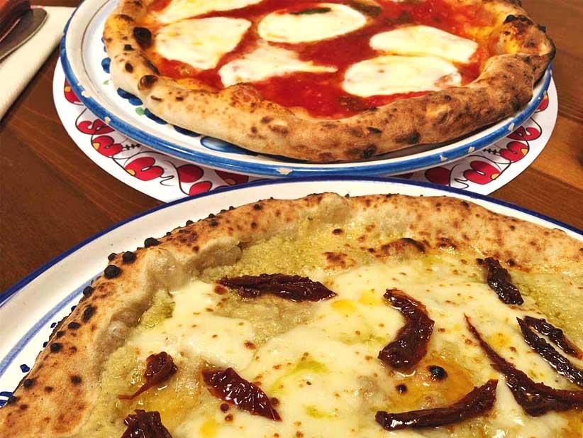 pizze Bufala e Sardegna